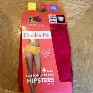 NEW women's size 8/9 Hipsters asst. colors